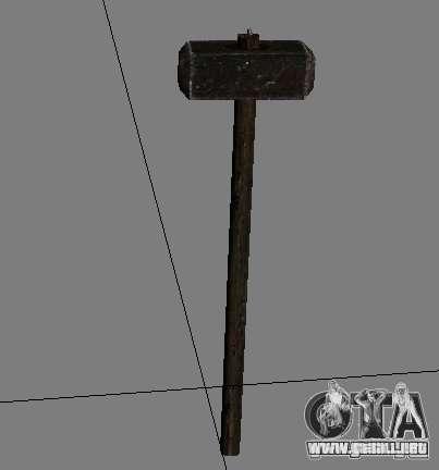 Un conjunto de armas de acosador V2 para GTA San Andreas décimo de pantalla