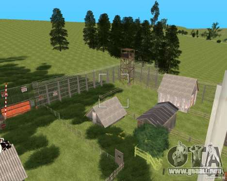 Base Gareli para GTA San Andreas tercera pantalla