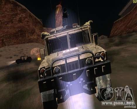 Hummer H1 de COD MW 2 para GTA San Andreas
