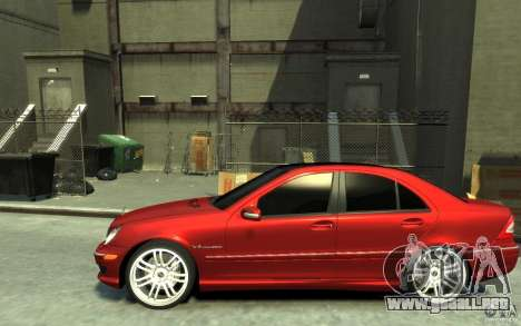 Mercedes-Benz C32 AMG Light Tuning para GTA 4 left