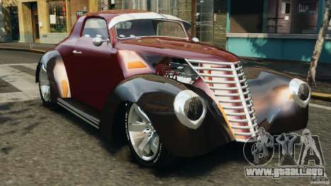 Walter Street Rod Custom Coupe para GTA 4