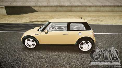 Mini Cooper S para GTA 4 left