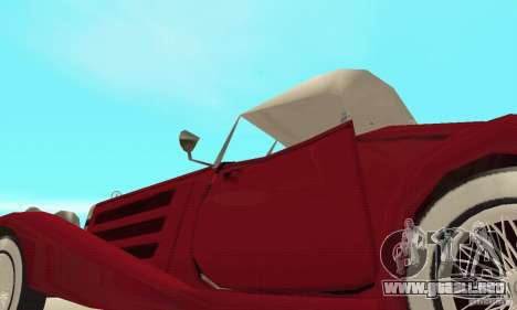 Mercedes-Benz 500K para vista inferior GTA San Andreas