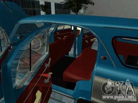 Moskvitch 423 para visión interna GTA San Andreas