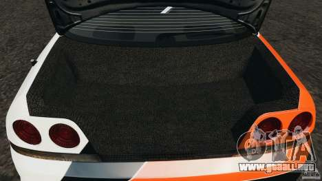 Nissan Skyline GT-R (R33) v1.0 para GTA 4 vista desde abajo