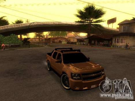 Chevrolet Avalanche Tuning para GTA San Andreas