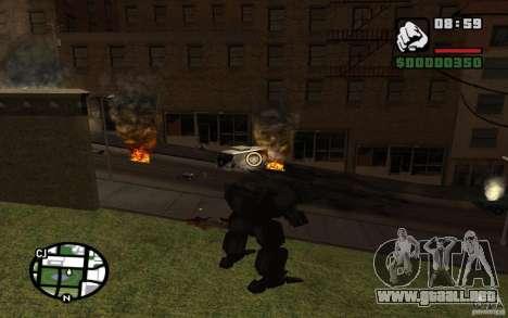 Exoesqueleto para GTA San Andreas tercera pantalla