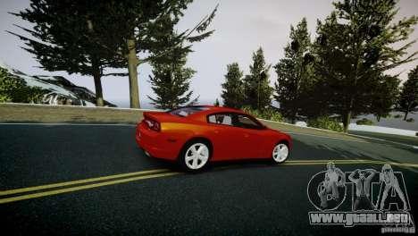 Dodge Charger R/T 2011 Max para GTA 4 vista hacia atrás