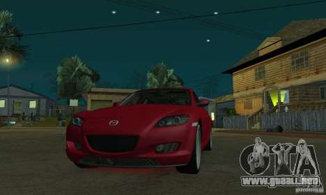Luces de neón rojo para GTA San Andreas tercera pantalla