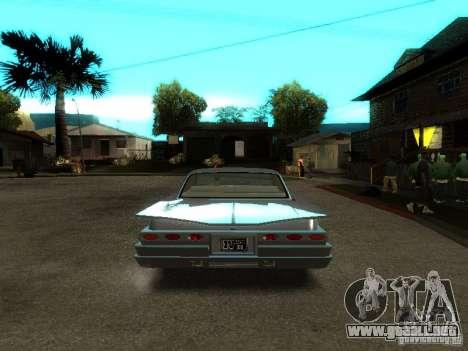 Vudú en GTA IV para GTA San Andreas vista hacia atrás