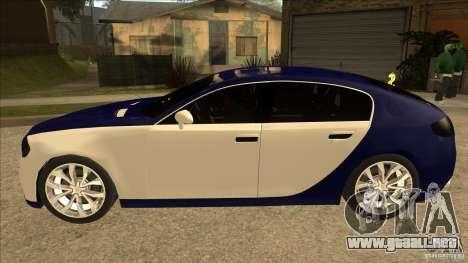 Bugatti Galibier 16c para GTA San Andreas left