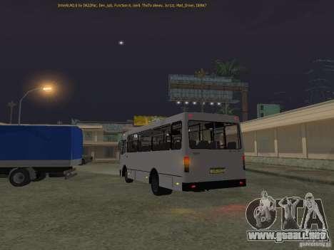 A091 Bogdan IVLM para GTA San Andreas vista posterior izquierda