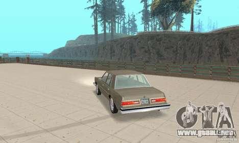 Dodge Diplomat 1985 v2.0 para GTA San Andreas left