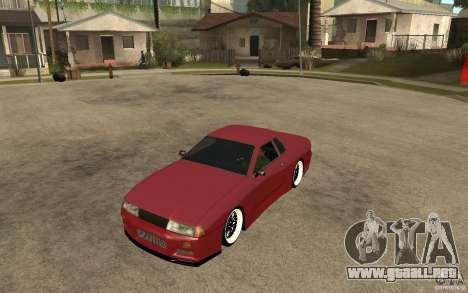 Elegy Modified para GTA San Andreas