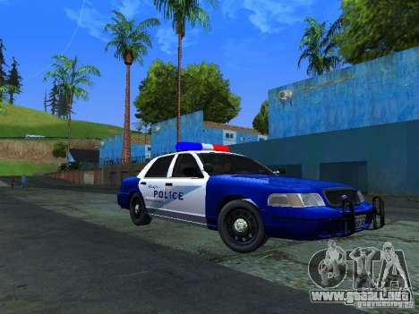 Ford Crown Victoria Belling State Washington para GTA San Andreas left