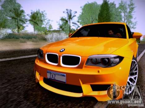 BMW 1M E82 Coupe para GTA San Andreas