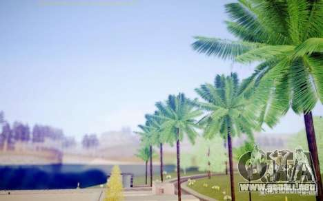 Sompelling ENBSeries para GTA San Andreas octavo de pantalla