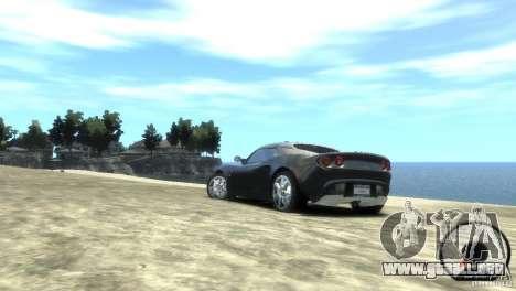 Lotus Elise v2.0 para GTA 4 left