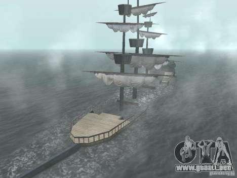 Barco pirata para GTA San Andreas sexta pantalla