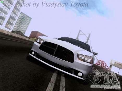 Dodge Charger 2013 para GTA San Andreas left
