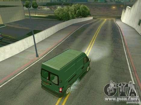 Renault Master para la visión correcta GTA San Andreas