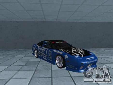 Nissan RPS13 Drift Spec para visión interna GTA San Andreas