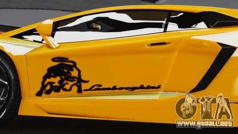 Lamborghini Aventador LP700-4 2012 para GTA 4 visión correcta