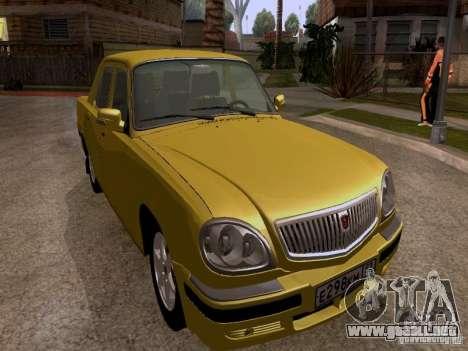 Volga GAZ 31107 para GTA San Andreas left