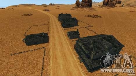 Red Dead Desert 2012 para GTA 4 séptima pantalla