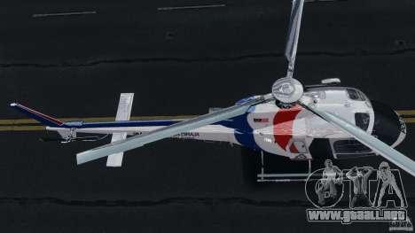 Eurocopter AS350 Ecureuil (Squirrel) Malaysia para GTA 4 vista hacia atrás