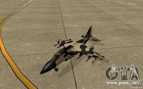 Camo Hydra para GTA San Andreas left