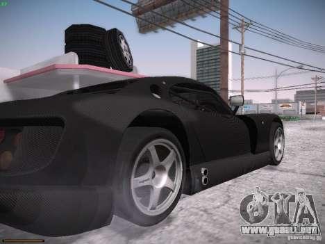 TVR Cerbera Speed 12 para visión interna GTA San Andreas