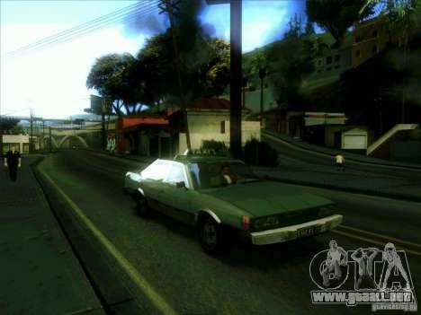 Un taxi desde dri3r para GTA San Andreas vista hacia atrás