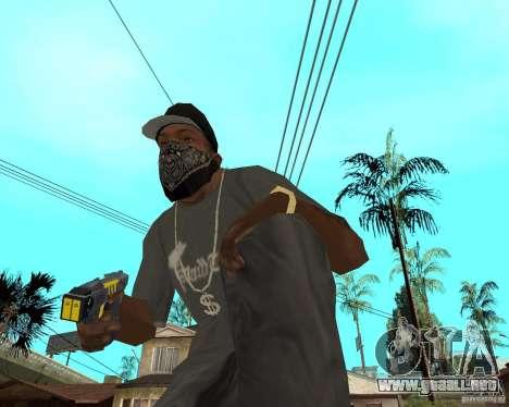 Taser para GTA San Andreas segunda pantalla