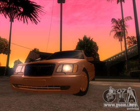 Mercedes-Benz S600 Limo para la visión correcta GTA San Andreas