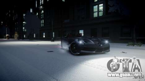 Mercedes Benz McLaren SLR Stirling Moss para GTA 4 left