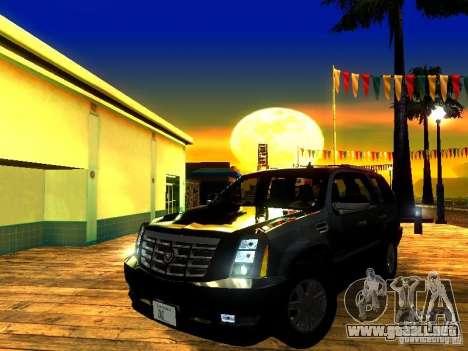 ENBSeries by JudasVladislav para GTA San Andreas sexta pantalla