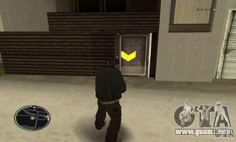Balas de GTA 4 para GTA San Andreas sucesivamente de pantalla