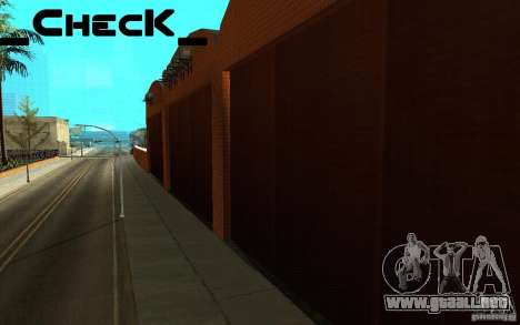 San noticias de respawn para GTA San Andreas sucesivamente de pantalla