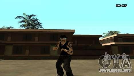 Skin Pack The Rifa para GTA San Andreas segunda pantalla
