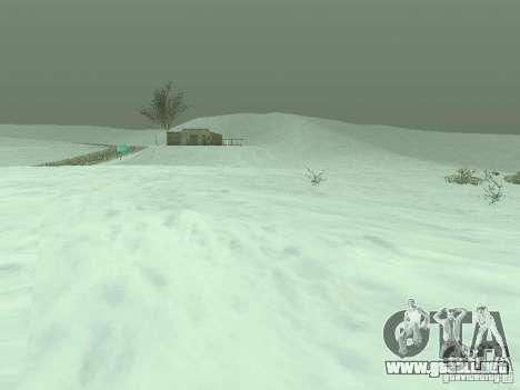 Frozen bone country para GTA San Andreas