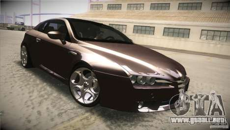 Alfa Romeo Brera Ti para visión interna GTA San Andreas