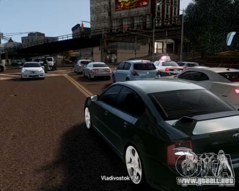 Traffic Load final para GTA 4 tercera pantalla