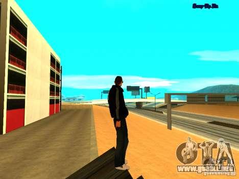 Nuevo skin para Gta San Andreas para GTA San Andreas quinta pantalla