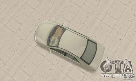 Toyota Camry para GTA San Andreas vista posterior izquierda