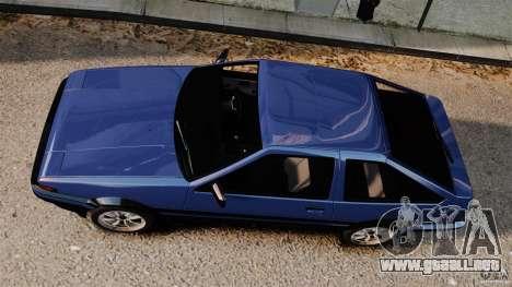 Toyota Sprinter Trueno GT 1985 Apex [EPM] para GTA 4 visión correcta