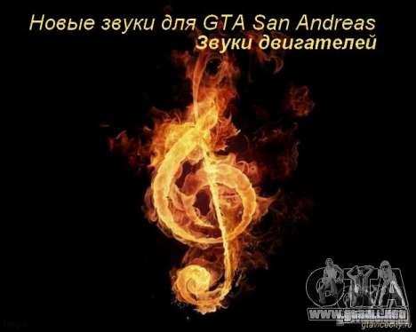 Nuevos sonidos v2 para GTA San Andreas