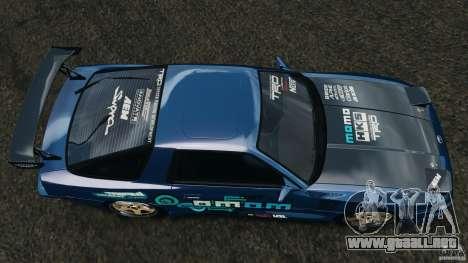 Toyota Supra 3.0 Turbo MK3 1992 v1.0 para GTA 4 visión correcta