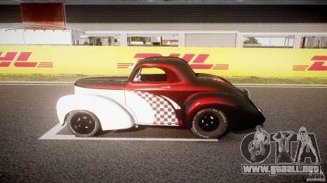 Willys Americar 1941 para GTA 4 vista interior