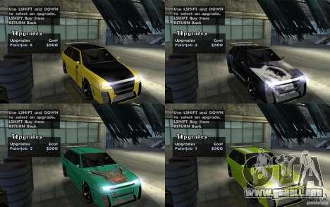 VAZ 2108 Devil V.2 para GTA San Andreas vista hacia atrás